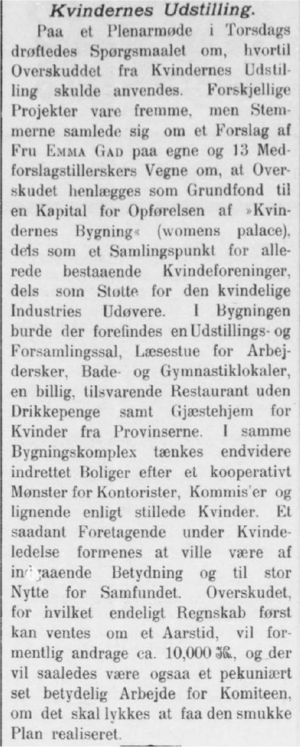 JyllandsPosten 12. august 1895.