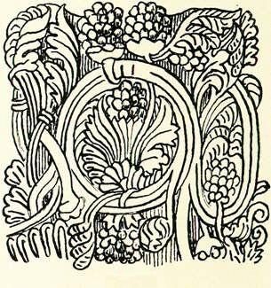 Blomst i den byzantinske Stilart