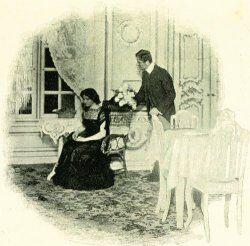 Fru Aggerholm og Hr. Poul Reumert