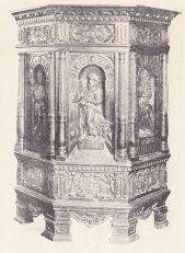 Prædikestol fra 1594