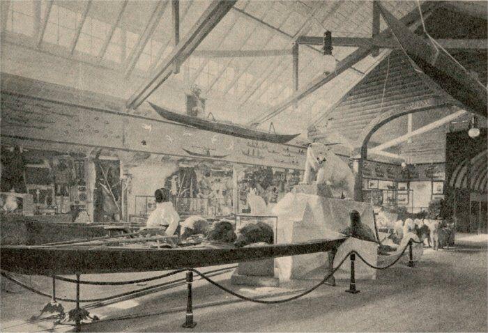 Fra den grønlandske afdeling på Emma Gads største udstilling: Koloniudstillingen i 1905.