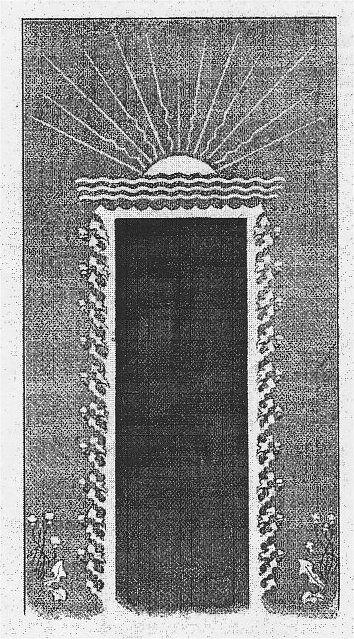 Fig 155 - Udstillingens Indgang.