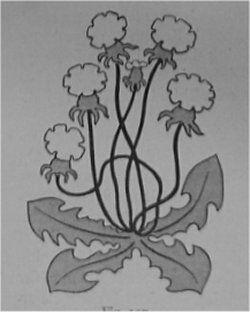 Fig 157 -Fra Indgangsdørens Dekoration.