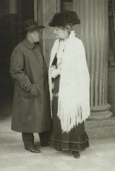 Johan Skjoldborg og Emma Gad