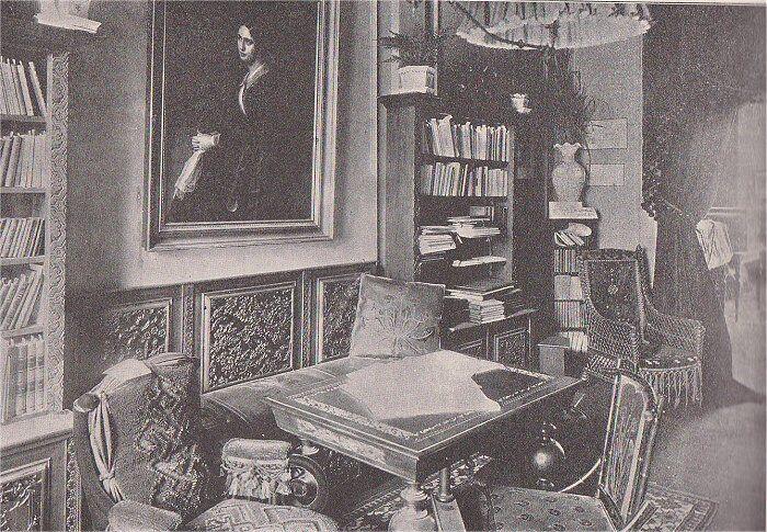 Kvindeudstillingens Literaturafdeling.