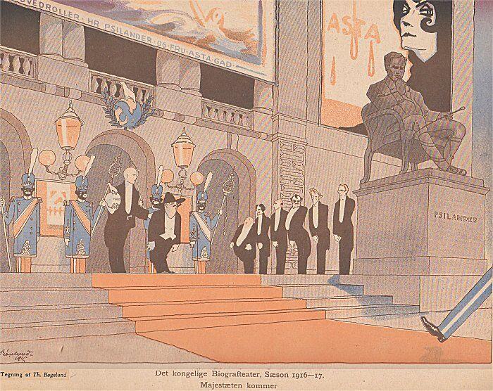 Svikmøller viser nutiden i 1915