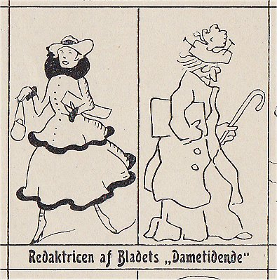 Emma Gad blev i 1915 ansat på Politiken som redaktør på Dametidende.