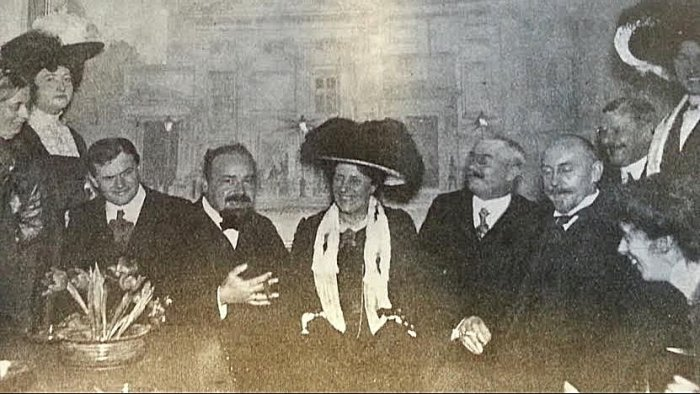 Albert Gnutzmann og Emma Gad m. fl. - Verden og Vi 1912 nr.(?)