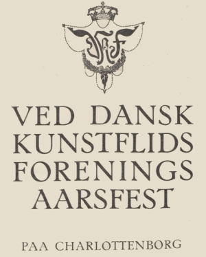 dansk kunstflidsforening