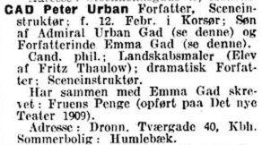 1910 - BlaaBog - Peter Urban