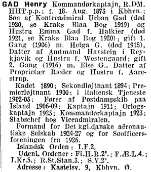 1929 - BlaaBog - Henry Gad
