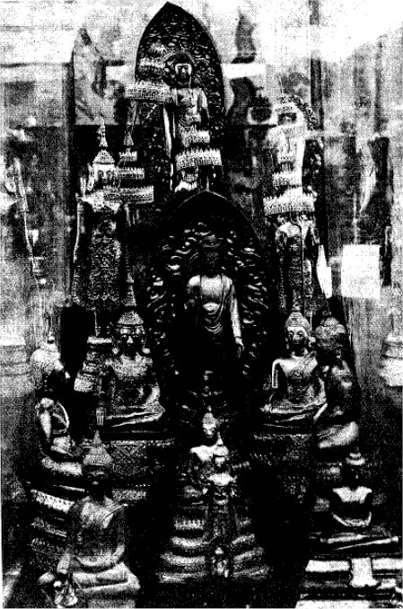En samling Buddaer