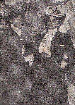Etatsraadinde Hansen og Professorinde Mayer