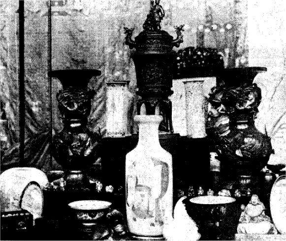Vaser og figurer fra prinsesse Marie