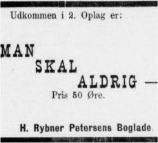 31. august 1886 Skive Folkeblad