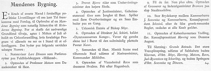 Klods Hans 6. maj 1900