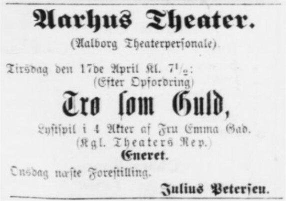 Aarhus Stiftstidende 16. april 1894