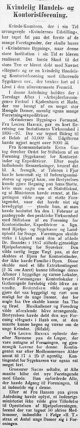 JyllandsPosten 15. januar 1898