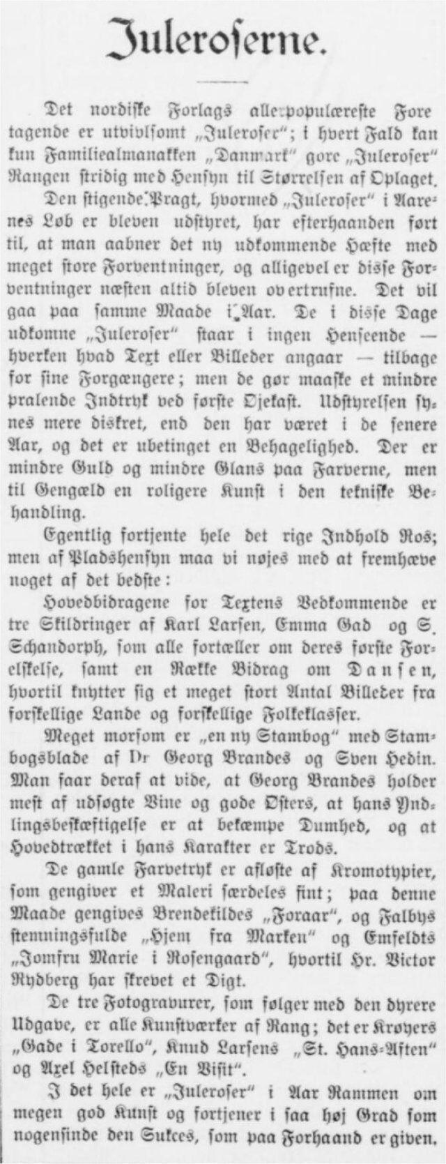 Horsens Folkeblad 9. december 1898