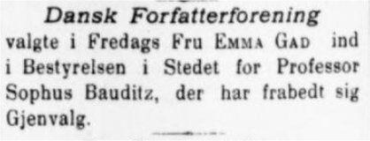 Jyllands Posten 26. marts 1899