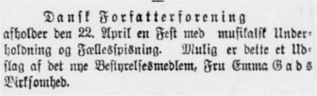 Dagens Nyheder 4. april 1899
