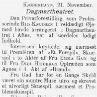 Jyllands Posten var en af de første aviser til at gå over til latinske bogstaver.  Vi kipper med flaget, Super ;-)