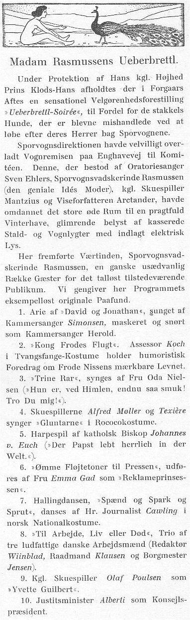 Klods Hans 22. marts 1903