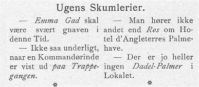 Klods Hans 6. marts 1904