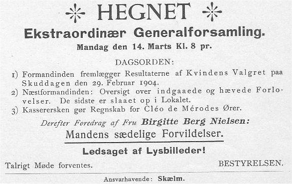 Klods Hans 13. marts 1904
