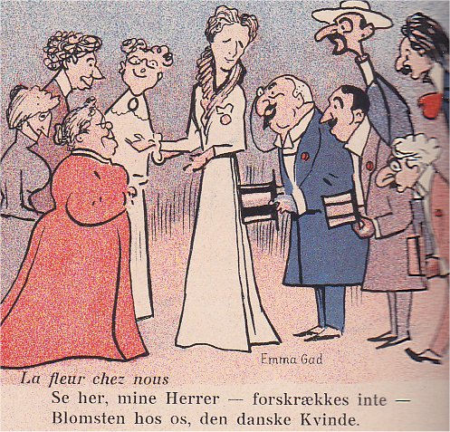 Klods Hans 16. juni 1906