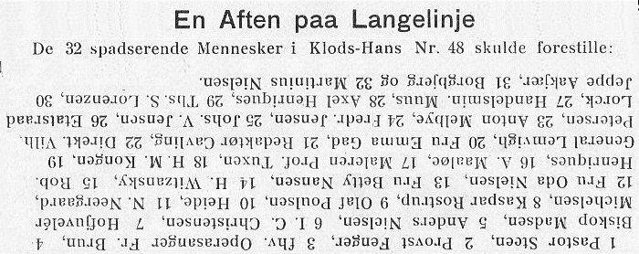Klods Hans 26. august
