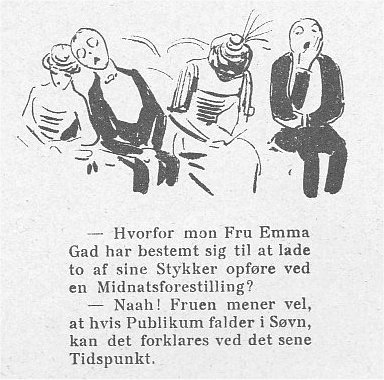 Klods Hans 6. december 1912