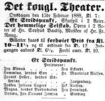 Kjøbenhavns Adresse Efterretninger 15. februar 1888