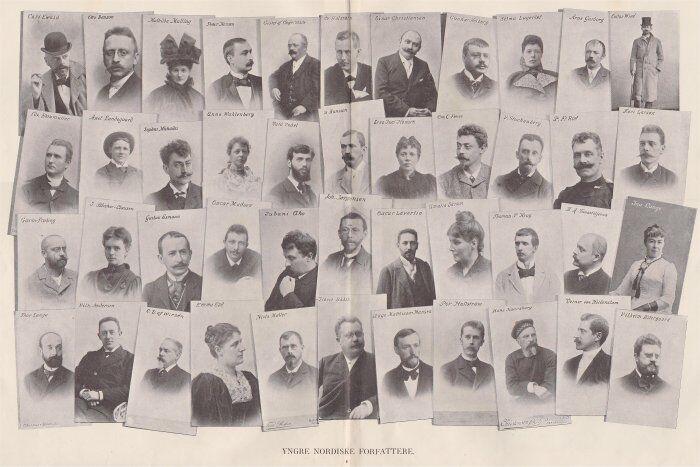 YNGRE NORDISKE FORFATTERE 1896