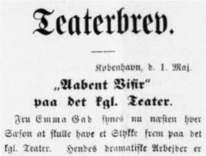 Ringsted Folkeblad 2. maj 1898