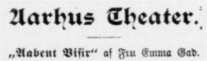 Aarhus Stiftstidende 5. november 1898
