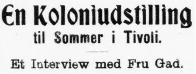 Adresseavisen 26. november 1904