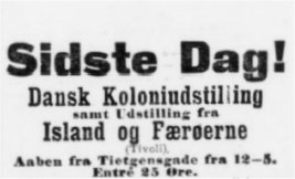Nationaltidende 24. september 1905.
