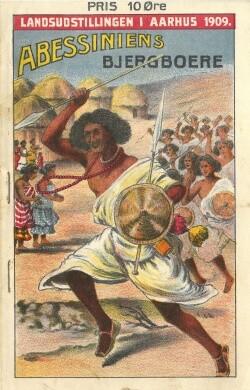 Abessinierne på Landsudstillingen 1909.