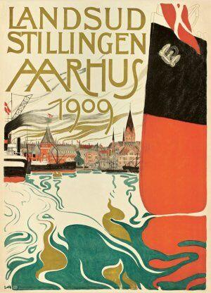 Valdemar Andersens plakat til Landsudstillingen.