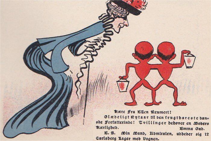 Klods Hans 31. december 1904