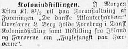 Social-Demokraten 5. september 1905