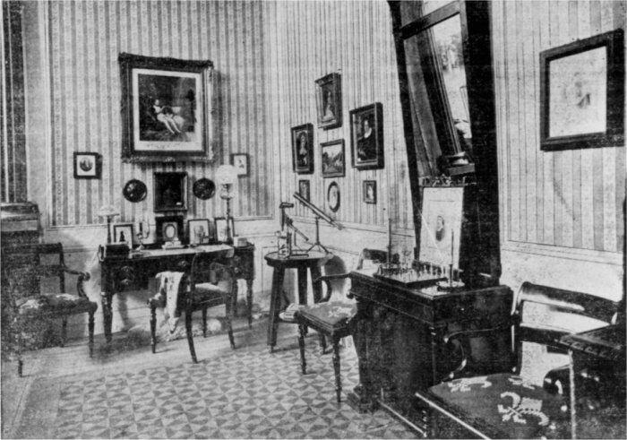 Johan Ludvig Heibergs Arbejdsværelse.