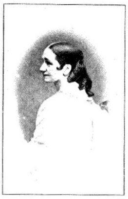 Ungdomsbillede af Johanne Luise Heiberg.