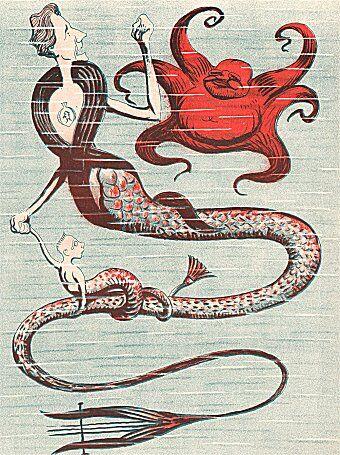 Klods Hans, 7. januar 1910. Tegning: Alfred Schmidt.