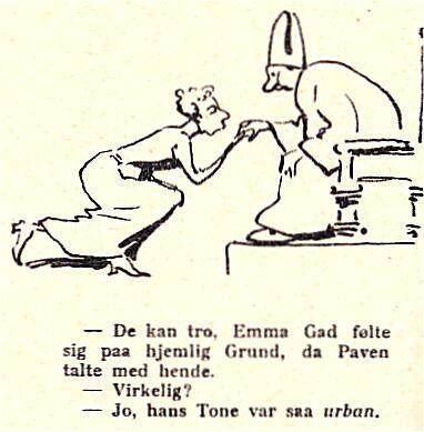 Klods Hans 23. februar 1912.