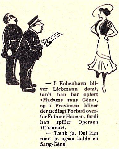 Klods Hans, 23. februar 1912.