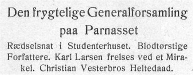 Klods Hans 15. marts 1908.