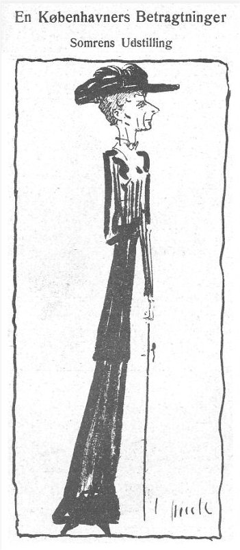Klods Hans, 30. juni 1911.
