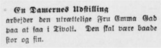 Aarhus Stiftstidende, 23. juni 1911.